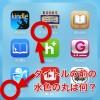 iOS7 で突如現れたアプリ名の前の水色の丸印は何?