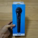 Wii Uカラオケ用有線マイクを買ったよ!音質もよくて作りがていねいだ〜!
