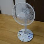 暑い夏を乗り切れ!DCモーターの扇風機とACモーターの扇風機を比較してみた。これからはDC扇風機の時代!
