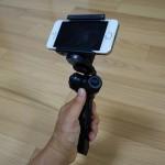 【レビュー】手持ちができるiPhone三脚「200-CAM020」は自分撮りも最適!