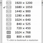 【Macアプリ】Retidaディスプレイ対応のディスプレイサイズ一発変更アプリ「Display Menu」はMBPRユーザー必須アプリだ!