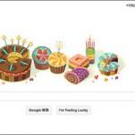 今日のGoogle Doodlesは何だ?と思ったら自分の誕生日だった件