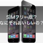 iPhone SIMフリー端末とMNPを利用してお得に賢くiPhoneをGET&活用する方法を考えてみた