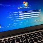 【TIPS】MacBook AirでOS X MavericksをクリーンインストールしてBootCampでWindows 7を入れてみた