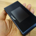 【レビュー】PocketWiFi 305ZT用画面フィルムを買ってみた モバイルルーターにも保護フィルムを貼る時代に