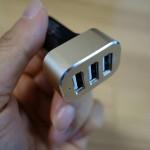 【レビュー】シガーソケットから3台同時充電可能な「USB Car Charger Omaker 26W/5.1A (2.1A/2.0A/1.0A)」を使ってみた
