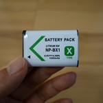 【レビュー】SONYバッテリーNP-BX1互換品(RX100M2用)を買ってみた