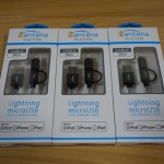 【レビュー】パソコン工房のNantenaセレクション「Lightning&microUSB両用ケーブル」が便利!安価で高性能!!