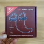 【レビュー】邪魔にならずズレにくいカナル型Bluetoothイヤホン「Q9A」を使ってみた→スポーツ利用にピッタリ
