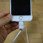 【レビュー】iPhoneでLightningコネクターに取り付ける「ネックストラップ」はケースを選ばない!落下よ!おさらば!!