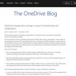 【悲報】OneDriveよ、お前もか!Office 365ユーザーは無制限→1TBに、無料ユーザーは15GB→5GBに激減と改悪
