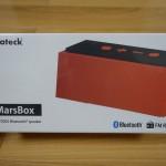 【レビュー】Inateckの尖ったデザインのBluetoothスピーカー「MarsBox(BP2002)」を使ってみた