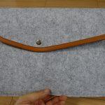 【レビュー】9.7インチiPadフェルト封筒カバーが何でもすっぽり入って収納力抜群!699円と安価で軽い!【割引クーポンあり(2016/9/30まで)】