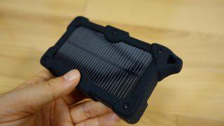 【レビュー】災害用にも。ソーラーパネル搭載10,000mAhのモバイルバッテリーがあれば鬼に金棒!しかも2,299円と安い!