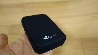 【レビュー】USB-C搭載3ポートのECTechnology高速モバブ12000mAhを使ってみた