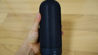 【レビュー】円柱型でIPX4取得のBluetoothスピーカー、「SoundPEATS P4」はお風呂&多人数での利用に便利