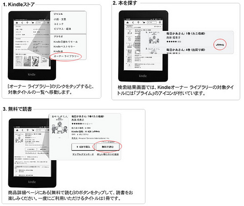 Amazon.co.jp: Kindleオーナー ライブラリー