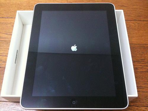 ついに我が家にiPadがやってきた!iPhoneユーザー必見!ひとぅ秘技公開!(^_^;)