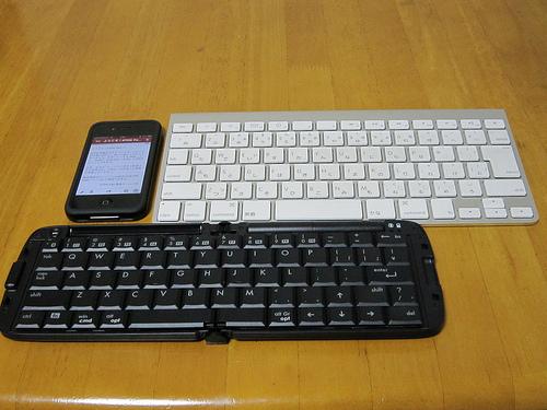 ATOK Pad for iPhone でBluetoothキーボードが使えるか?試してみた