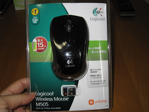 コストパフォーマンスが最高のワイヤレスレーザーマウス「M505」を買ってみた