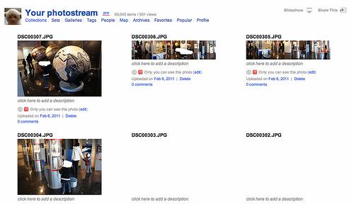 Google ChromeでFlickrのサムネイル画像が表示されなくなったときの改善方法