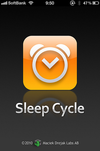 今更ですがiPhoneアプリ「Sleep Cycle」を使ってみた