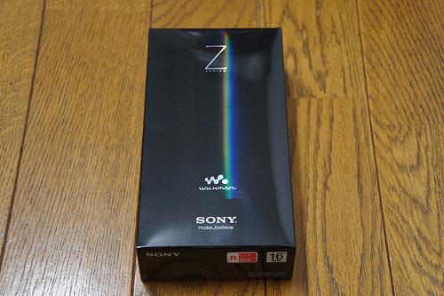 ウォークマンZシリーズを買ったよ!開封の儀&ファーストインプレッション