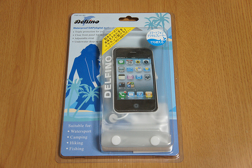 お風呂やプール、海、スキーでiPhoneを使うならこれ!827円の激安防水ケースを使ってみた感想