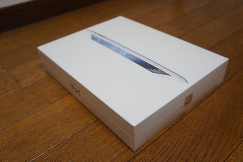 新しいiPad(第3世代)がうちにやってきた!開封の儀&音声入力がすごい!