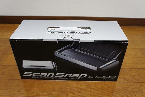 【開封の儀】今更ですがScanSnap S1300をゲットしちゃいました。私の用途は子どものライフログ