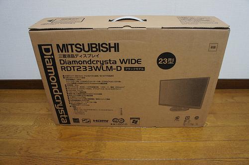 【買ってみた】激安23型LED液晶ディスプレイRDT233WLM-Dを買ってみた