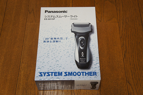 安価な電動シェーバーPanasonic ES6015P-Sを買ってみた