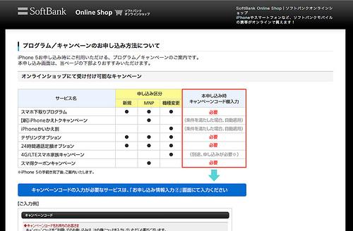 ソフトバンクオンラインショップでiPhone5の本申し込みをした!到着は22日午前便!