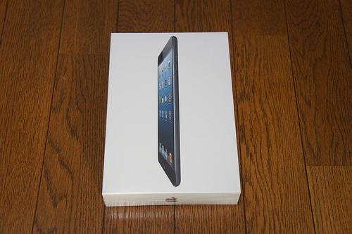 iPad mini Wi-Fi 16GB Blackを買っちゃいました!開封の儀&ファーストインプレッション