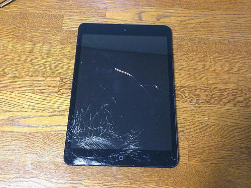 ショック!iPad miniを落として画面が破損!酔った勢いで分解(破壊?)してみました!!