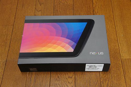 Nexus10が届いたよ!開封の儀を執り行いました!