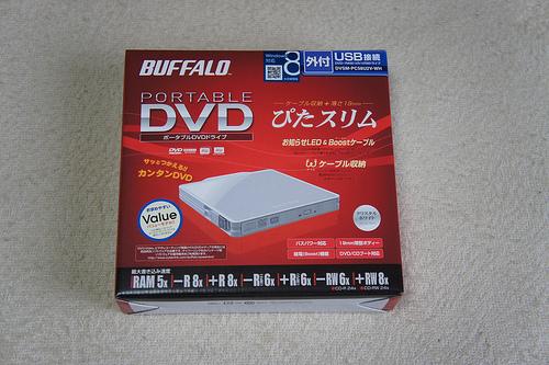 MacBook Airで使える激安DVDドライブ(DVSM-PC58U2V)を買ってみた→安いけど注意が必要です!
