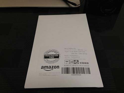 RX100II 液晶画面用フィルタ「PRO GUARD ARSH」を買って取り付けてみた